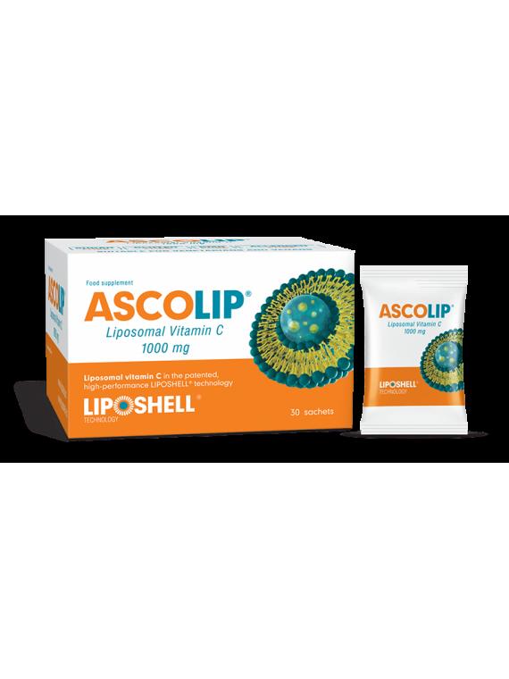ASCOLIP Liposominis vitaminas C 1000 mg N30