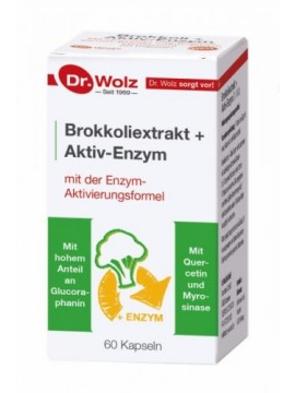 Dr.Wolz Brokkoliextrakt + Aktiv-Enzym N60