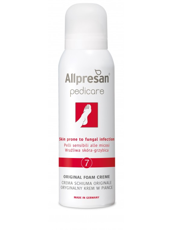 Allpresan 7 kremas-putos į grybelinę infekciją linkusiai pėdų odai 125 ml