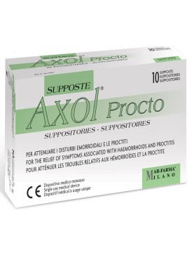 Axol Procto žvakutės N10