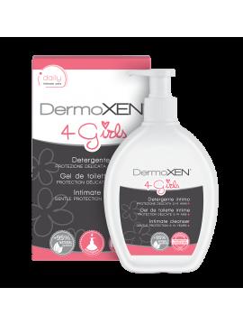 DermoXEN 4 GIRLS intymios higienos prausiklis 200 ml