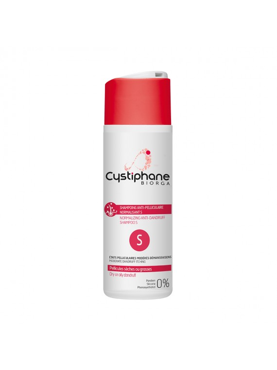 BIORGA Cystiphane S Šampūnas nuo pleiskanų 200 ml