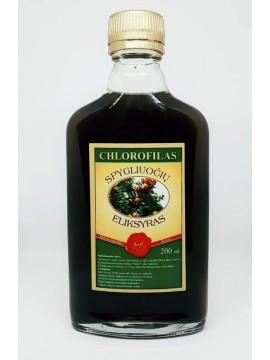 Spygliuočių eliksyras - skystas chlorofilas 200ml