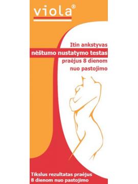 Nėštumo testas Viola® Itin ankstyvas