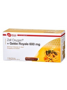 Dr.Wolz Zell Oxygen + Gelee Royale 600 mg-20ml N14
