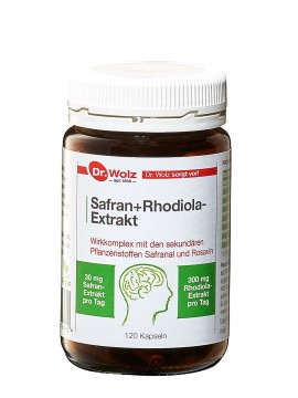 Dr.Wolz Safran+Rhodiola-Extract N120