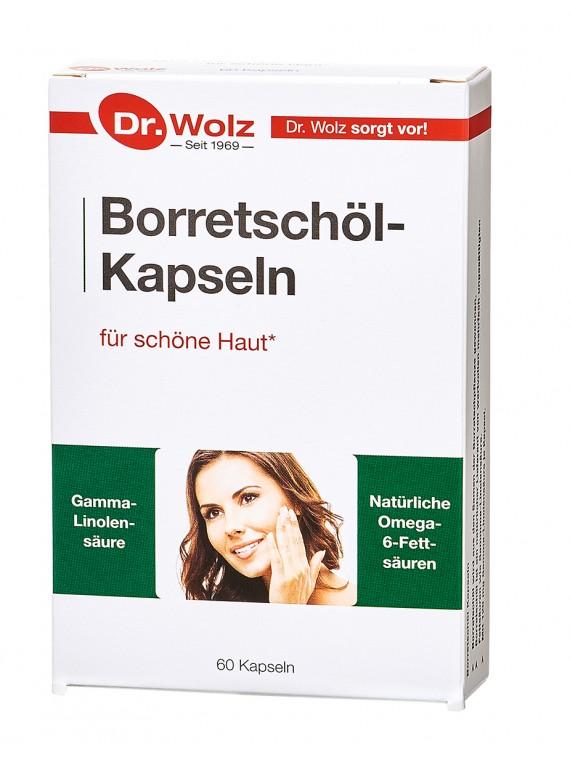 Dr.Wolz Borretschöl-Kapseln N60