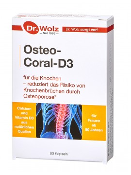 Dr.Wolz Osteo-Coral-D3 N60