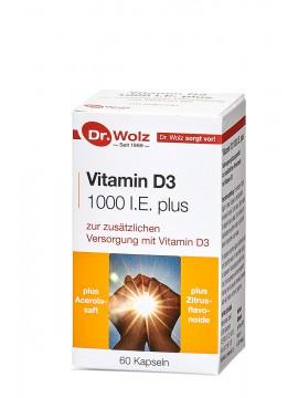 Dr.Wolz Vitamin D3 1000 I.E. plus N60