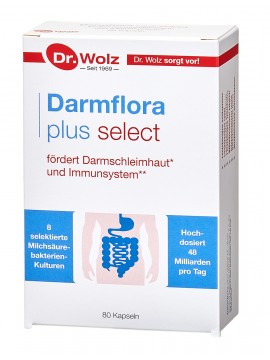Dr.Wolz Darmflora plus select N80