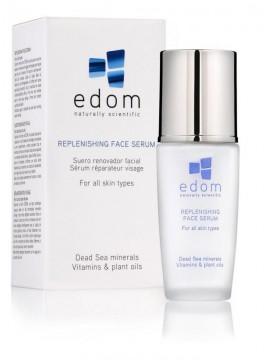 EDOM raukšles užpildantis veido serumas visų tipų odai, 30 ml
