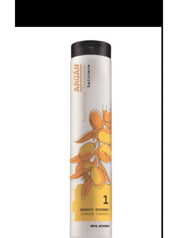 ELGON ARGAN šampūnas su argano aliejumi SUPREME SHAMPOO 250 ml