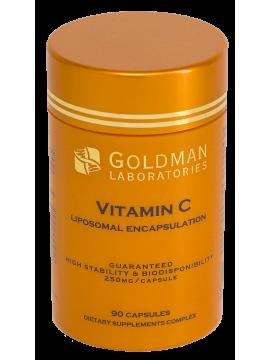 Goldman Liposominis vitaminas C 250 mg N90