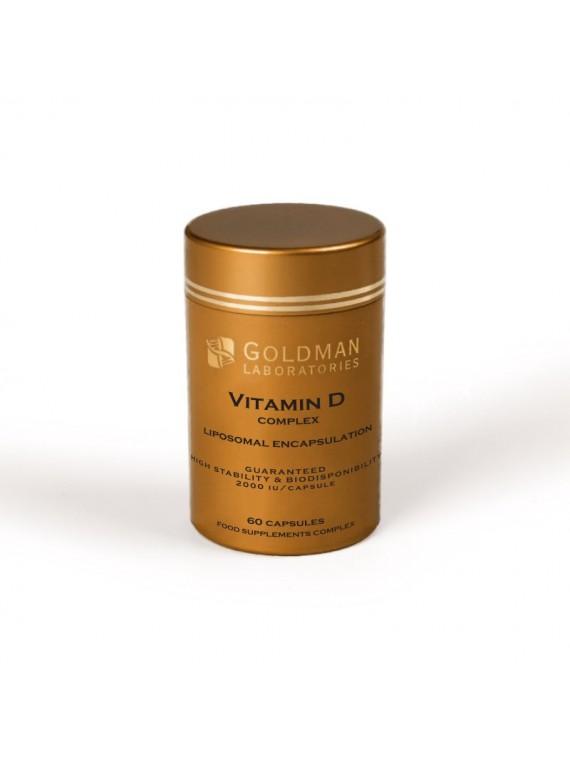 Goldman Liposominis vitaminas D 2000 TV N60