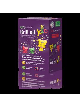 LYL Krill Oil Kid Guminukai N30