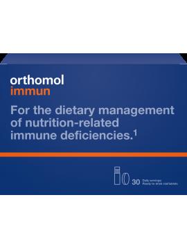 Orthomol Immun 30 dienos dozių