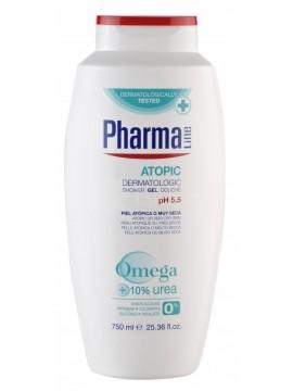 PharmaLine Dušo želė labai sausai ir atopinei odai 250ml