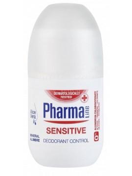 PharmaLine Dezodorantas jautriai ir sudirgusiai odai 75 ml