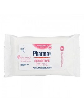 PharmaLine Intymios higienos drėgnos servetėlės moterims 12vnt.