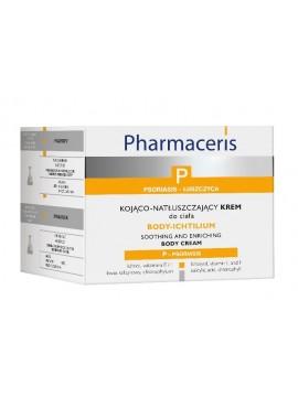 Pharmaceris P Body-Ichtilium raminamasis maitinamasis kremas kūnui, 175ml
