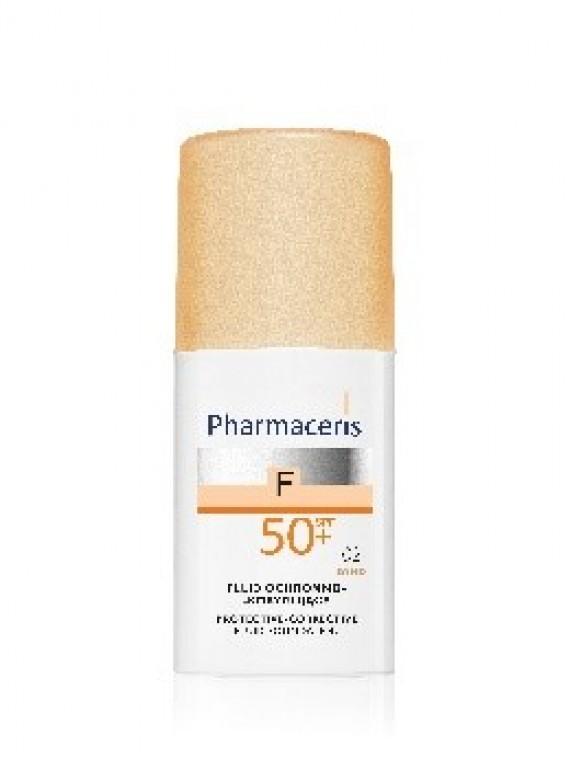 Pharmaceris F SPF50+ Nr.1, Apsauginė maskuojamoji skysta pudra, 30ml