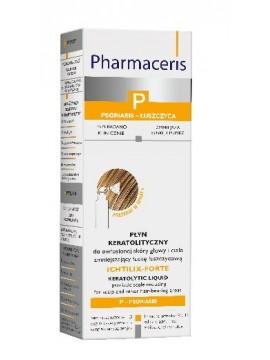 Pharmaceris P Ichtilix-Forte Keratolinis skystis galvos odai ir kūnui, 125ml