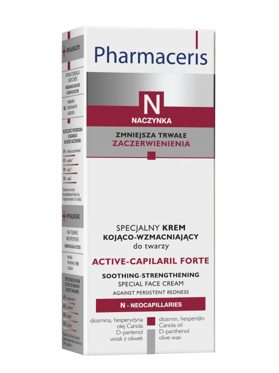 Pharmaceris N Active-Capilaril Forte Kremas raminamasis stiprinamasis, 30ml