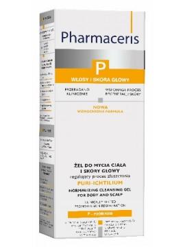 Pharmaceris P Puri-Ichtilium Valomasis gelis kūno ir galvos odai, 250ml
