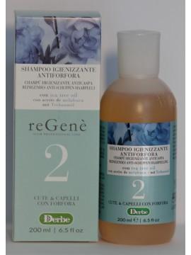 REGENE Šampūnas nuo pleiskanų su arbatmedžio aliejumi, 200ml