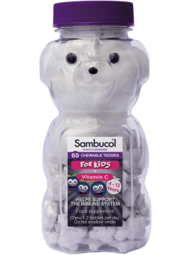 Sambucol  For Kids kramtomos tabletės N60