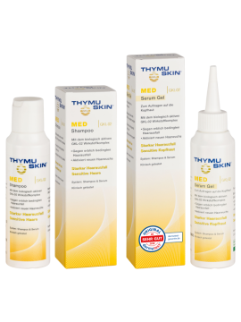 THYMUSKIN MED rinkinys – šampūnas 100ml ir serumas 100ml