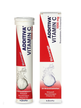 Additiva Vitaminas C Šnypščiosios tabletės N20