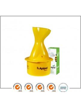 APIPOL inhaliatorius + Apipol propolio lašai su eukaliptų ir pipirmėčių eteriniais aliejais