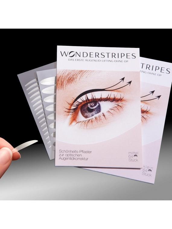 Wonderstripes Akių vokų odos pakėlimo juostelės N64 L dydis